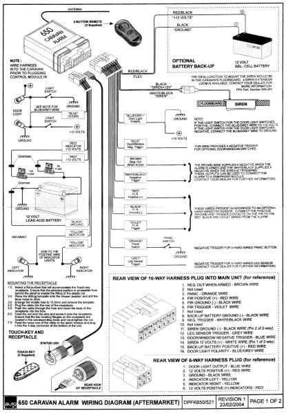 autowatch 650 wiring diagram - autowatch 650