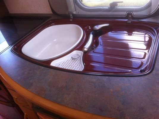 Caravan Kitchen Sinks Drainers Combi Scrap My Caravan Gallery Caravan Talk