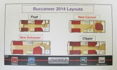 2014 Buccaneer layouts