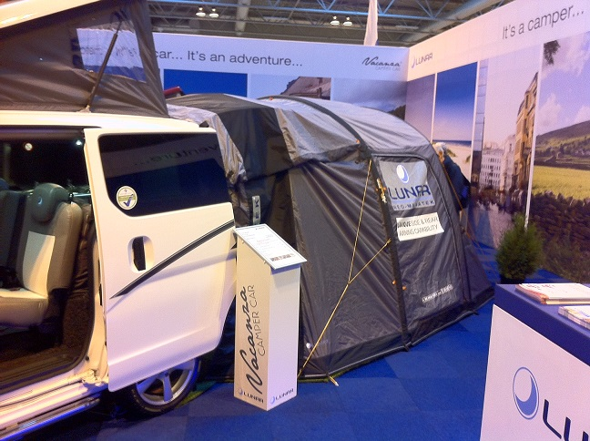 The Lunar Drive Away Awning Attached To The Vacanza Camper
