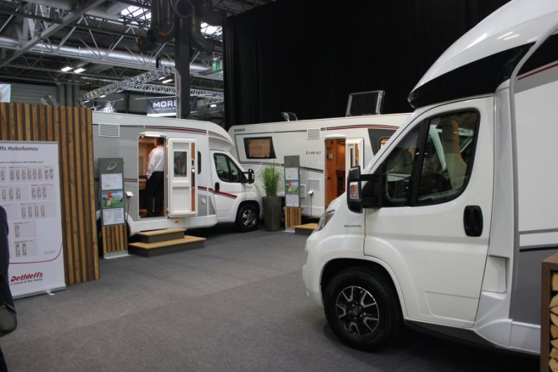 Perfect Practical Motorhome  Check Out 201639s NEC Show Stars  18