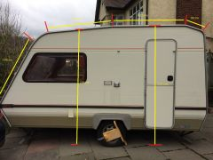 Abi Monza 390 2   awning measurements
