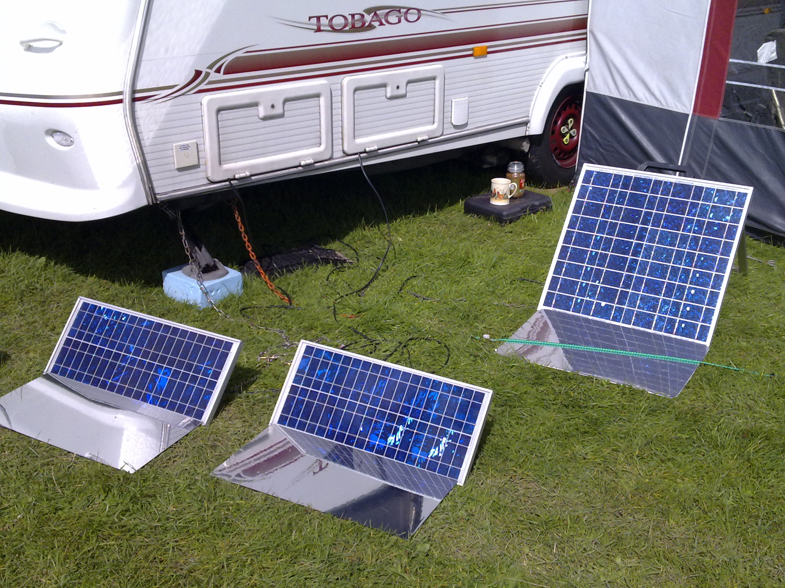 Solar Panels And Weight Amp Fitting Caravan Accessories