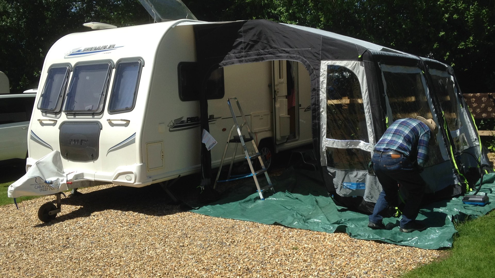 Help!! What size air awning do I need - Caravan Awnings ...