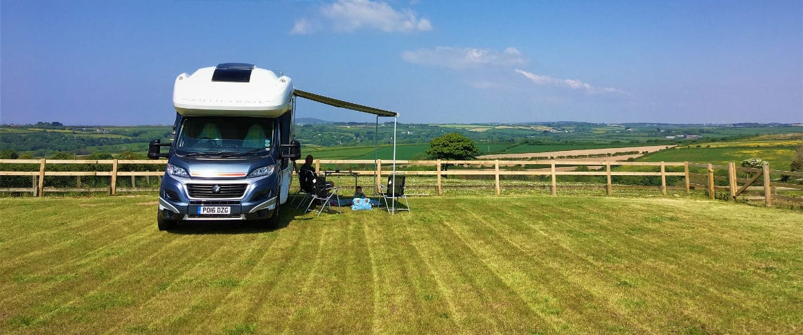 Pitchup - Motorhome in the countryside